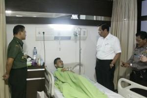 Luhut Anak Anggota Polisi yang Dirawat di Rumah Sakit Ingin Menjadi Polisi Seperti Ayahnya 04