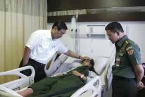 Luhut Anak Anggota Polisi yang Dirawat di Rumah Sakit Ingin Menjadi Polisi Seperti Ayahnya 05