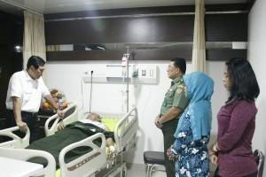 Luhut Anak Anggota Polisi yang Dirawat di Rumah Sakit Ingin Menjadi Polisi Seperti Ayahnya 07