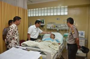 Luhut Anak Anggota Polisi yang Dirawat di Rumah Sakit Ingin Menjadi Polisi Seperti Ayahnya 08