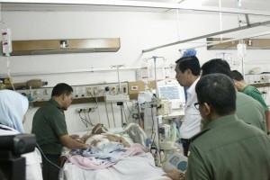 Luhut Anak Anggota Polisi yang Dirawat di Rumah Sakit Ingin Menjadi Polisi Seperti Ayahnya 09