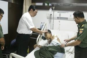 Luhut Anak Anggota Polisi yang Dirawat di Rumah Sakit Ingin Menjadi Polisi Seperti Ayahnya 10