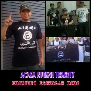 Ustadz Beken Di TransTV Pakai Kaos ISIS, Netizen Gempar