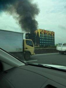 Hotel Alexis Jakarta Kebakaran