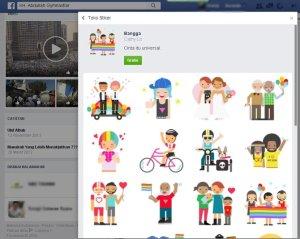 Pakai Facebook yang Punya Stiker Gay, AA Gym Kena Sindir