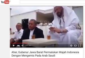 """VIDEO: Wajah Mirip Gubernur Jawa Barat """"Ngemis"""" Kepada Arab Saudi"""