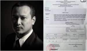 Banyu Biru Djarot Pamer Surat Pengangkatan Jadi Anggota BIN