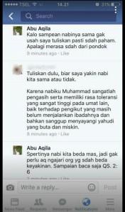 Abu Aqila Sang Penghina Mufti Agung Al Azhar Ternyata Simpatisan Partai KS!