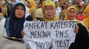 Ternyata Guru Honorer K2 Yang Demo Di Istana Negara Adalah Yang Gagal Tes Kompetensi