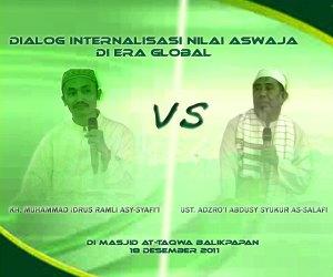 VIDEO: Kalah Debat Melawan Kiyai NU, Ustadz Wahabi Di Balikpapan Ngacir Dan Jadi Bahan Tertawaan Jamaah Majelis