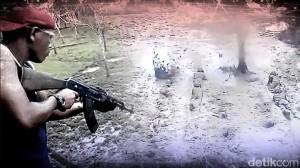 Ini Video Latihan TNI Berpeluru Tajam yang Bikin Heboh Asing