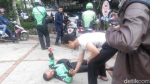 Kronologi Lengkap Penyerangan terhadap Reonaldo Go-Jek di Kemang