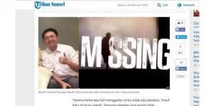 Manajer Kantor Cabang Bank Mandiri yang Kemarin Hilang Ditemukan Meninggal. Tersangka Dua ABG