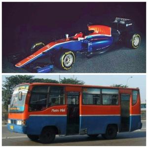 Warna Mobil Rio Haryanto Indonesia Banget. Mirip MetroMini! 1