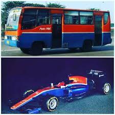Warna Mobil Rio Haryanto Indonesia Banget. Mirip MetroMini! 2