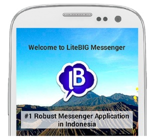 Yukk Install LiteBIG, Instant Messaging Kreasi Anak Bangsa Yang Lebih Canggih Dari WA Dan Line