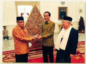 Jokowi Jadi Warga Kehormatan NU, Wahabi Ketar Ketir