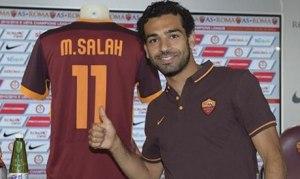 Roma Menang Karena Mohamed Salah 3