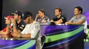 Saat Rio Haryanto Konferensi Pers Bersama Para Bintang F1 2