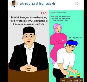 Kumpulan Meme Lucu Ridwan Kamil