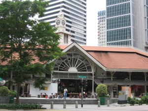 Telok Ayer Market or Lau Pa Sat Source: wikipedia
