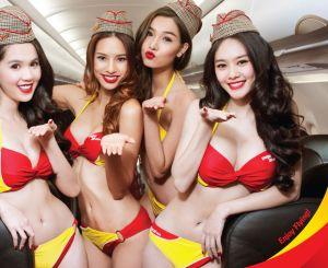Bikini Show di Dalam Pesawat, Cuma ada di VietJet Air! 1
