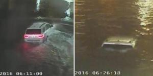 Seorang Mahasiswi Nekat Menerobos Banjir dan Akhirnya Meninggal Setelah Mobilnya Tenggelam