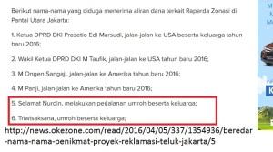 "Dua Politisi PKS Ini Diduga Ikut ""Kecipratan"" Suap Proyek Reklamasi Teluk Jakarta"