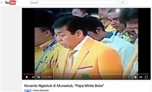 Setya Novanto Ngantuk di Munaslub Golkar, Papa Minta Bobo Jadi Trending