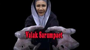 ilustrasi Ratna Sarumpaet yang mirip Valak