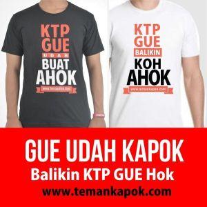 Ahok Maju Lewat Parpol, #BalikinKTPGue Jadi Trending Twitter, Meme KTP Gue Buat Apaan Ramai di Medsos 1
