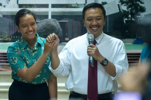 Akhirnya... Gloria Jadi Paskibraka, Menpora Berterima Kasih pada Presiden dan Wapres