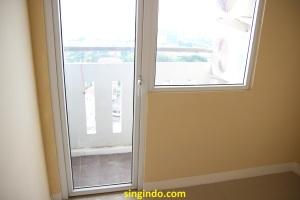 Balkon dilihat dari living room