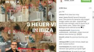Dekat Dengan Irwan Mussry, Maia Estianti Berlibur Bersama Di Ibiza Spanyol