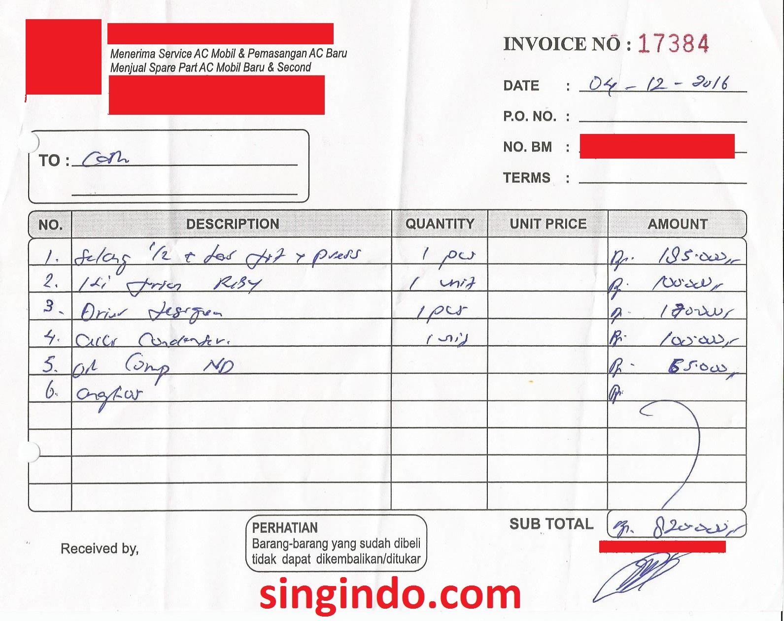 Biaya Service Ac Di Pontianak