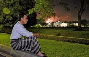 presiden-joko-widodo-habiskan-malam-pergantian-tahun-di-rumah
