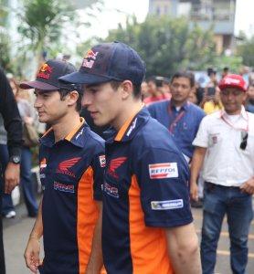 Ini Dia Yang Dilakukan Marc Marquez dan Dani Pedrosa Sebelum Repsol Honda Team Presentation di Jakarta Besok